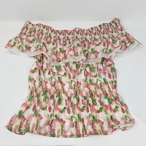 KISUII**Very Pretty Off-Shoulder Top**Small $345